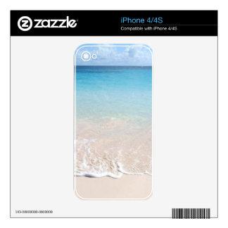 Elbow Beach, Bermuda iPhone 4 Skins