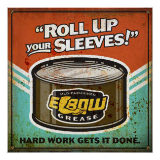 Elbow Grease Poster