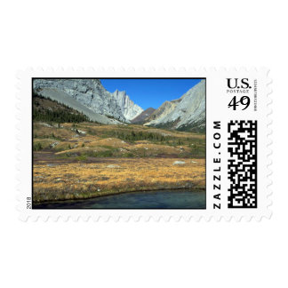 Elbow Pass in the Rocky Mountains, Alberta, Canada Postage Stamp