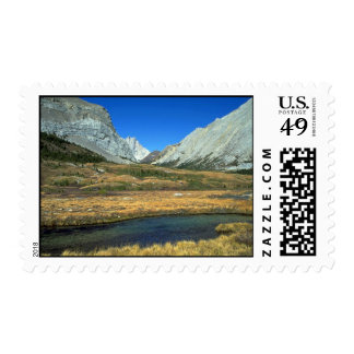 Elbow Pass in the Rocky Mountains, Alberta, Canada Postage Stamps