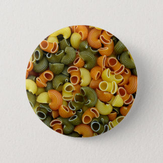 elbow pasta texture pattern background food tricol button