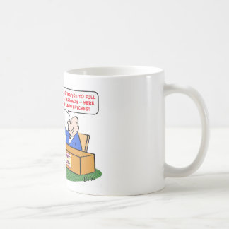 elbow patches promotion full professor coffee mug