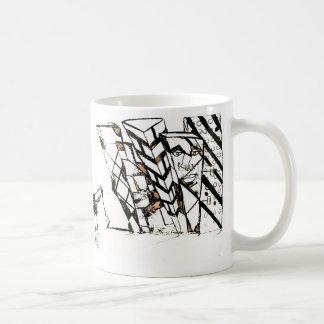 elbow spike coffee mug