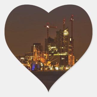 Elbphilharmonie Hamburg - Cityline Heart Sticker