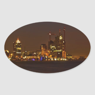 Elbphilharmonie Hamburg - Cityline Oval Sticker