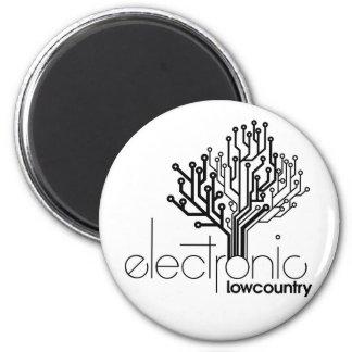 ELC Fridge Magnet in B&W