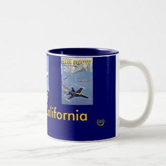 ELCENTRO2008, Fat Albert C130, Blu... Two-Tone Coffee Mug