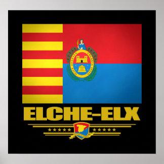 Elche (Elx) Poster