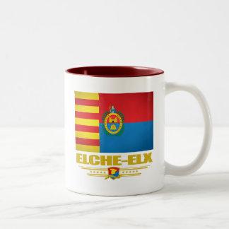 Elche (Elx) Two-Tone Coffee Mug