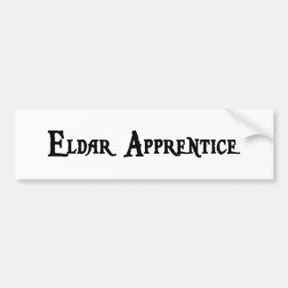 Eldar Apprentice Bumper Sticker Car Bumper Sticker