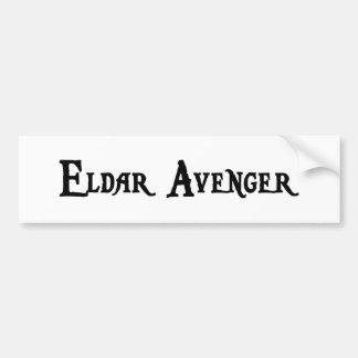 Eldar Avenger Bumper Sticker