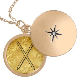 """Elder Futhark Neclace """"Gebo"""" Custom Jewelry"""