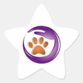 Elder Paws Star Sticker