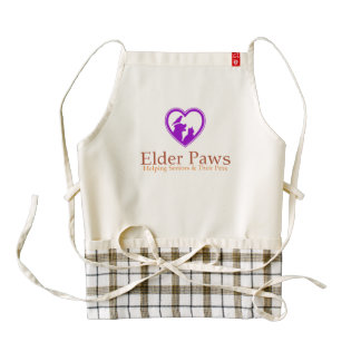 Elder Paws Zazzle HEART Apron