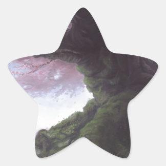 Elder Sakura Star Sticker