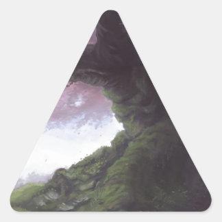 Elder Sakura Triangle Sticker