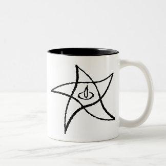 Elder Sign Two-Tone Coffee Mug