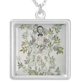 Elder Tree Mother' Silver Plated Necklace