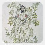 Elder Tree Mother' Square Sticker