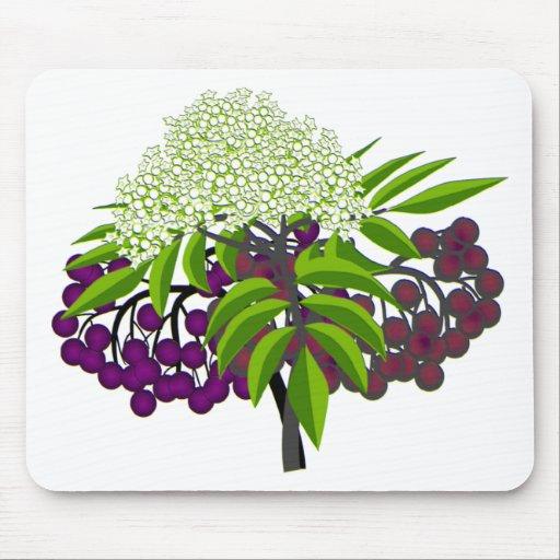 Elderberry Mouse Pad