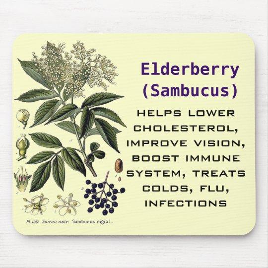 Elderberry Sambucus mousepad