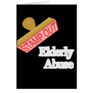 Elderly Abuse Card