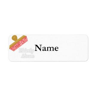 Elderly Abuse Return Address Label