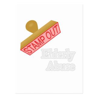 Elderly Abuse Postcard