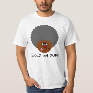 Elderly Adult  I'm OLD not STUPID Senior Citizen T-Shirt