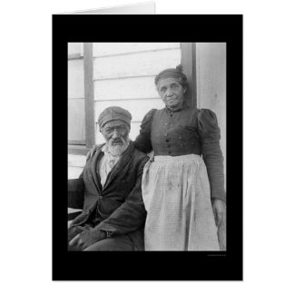Elderly African American Couple 1900 Cards