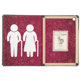 Elderly Couples Minimal iPad Air Cover
