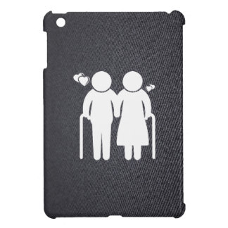 Elderly Lovers Minimal Cover For The iPad Mini