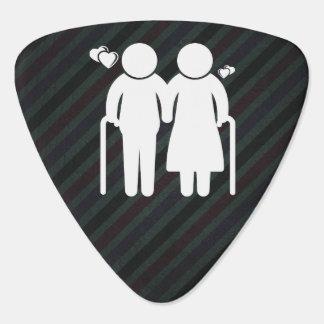 Elderly Lovers Minimal Guitar Pick