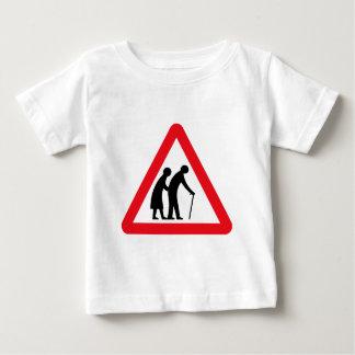 Elderly People (1), Traffic Sign, UK Baby T-Shirt