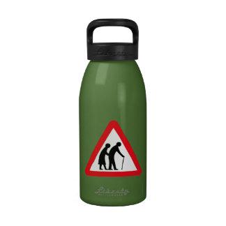 Elderly People (1), Traffic Sign, UK Drinking Bottle