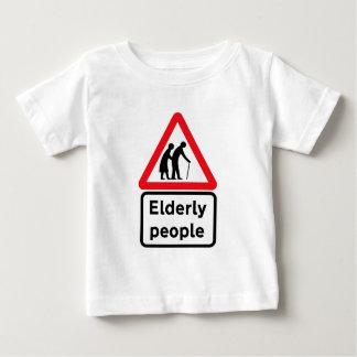 Elderly People (2), Traffic Sign, UK Baby T-Shirt