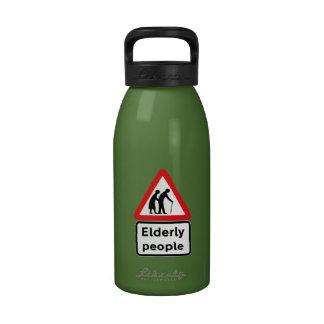 Elderly People (2), Traffic Sign, UK Water Bottles