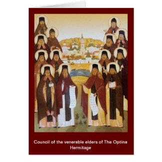 Elders, Council of the venerable elders of The ... Card