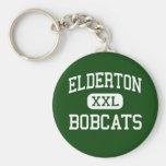 Elderton - Bobcats - High - Elderton Pennsylvania Key Chain