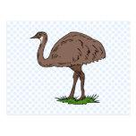 Eldon Emu Postcard