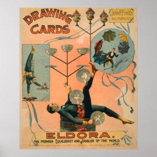 Eldora, Premier Equilibrist and Juggler of the Poster