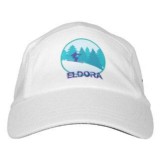 Eldora Teal Ski Personalized Headsweats Hat