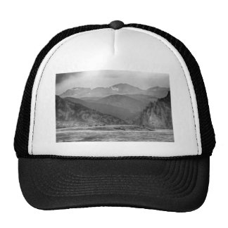 Eldorado Canyon and Continental Divide Above BW Trucker Hat