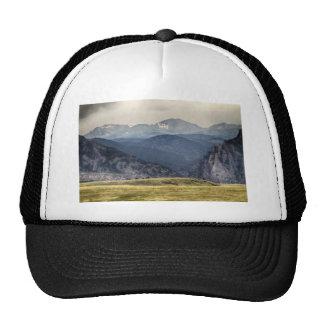 Eldorado Canyon and Continental Divide Above Trucker Hat