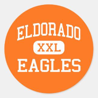Eldorado - Eagles - alto - Albuquerque New México Pegatina Redonda