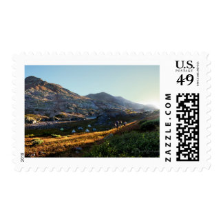 Eldorado Lake and White Dome - Colorado Postage