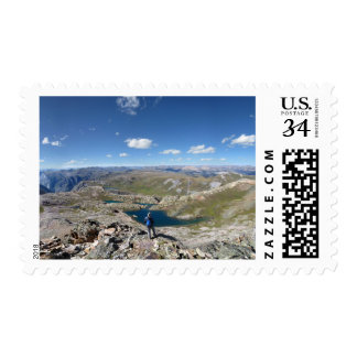 Eldorado Lake - Weminuche Wilderness - Colorado Postage