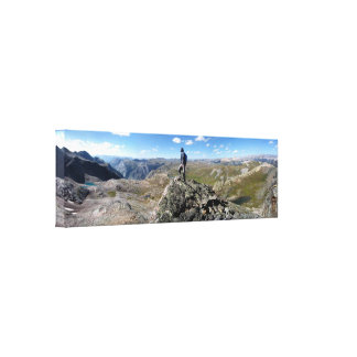 Eldorado Lake White Dome - Weminuche Wilderness Canvas Print