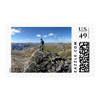 Eldorado Lake White Dome - Weminuche Wilderness Postage Stamp
