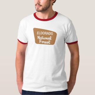 Eldorado National Forest (Sign) T-shirt